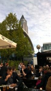 Innenhof der Frankfurter Buchmesse © P.H., litteratur.ch