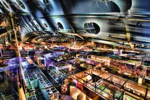 © Michael von Hassel und Frankfurter Buchmesse: Hyperrealistische Ansicht von Halle 3.1