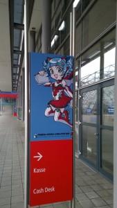 Plakat zur Manga-Comic-Convention an der Leipziger Buchmesse 2015. (c) litteratur.ch